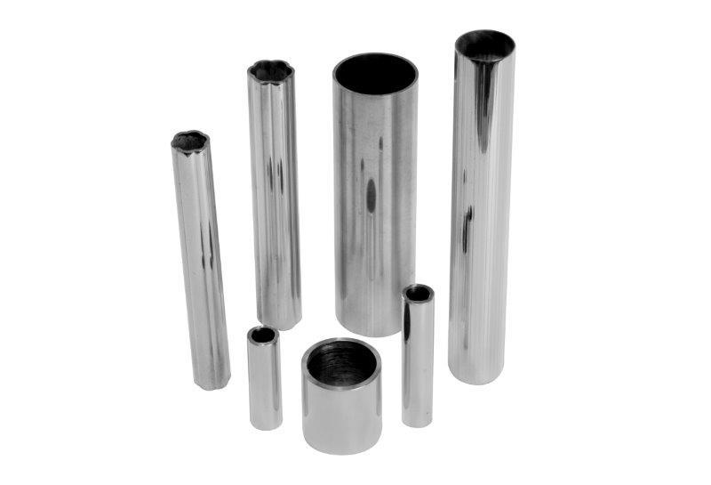 Tubo de alum nio quadrado atecmetais - Tubo de aluminio redondo ...